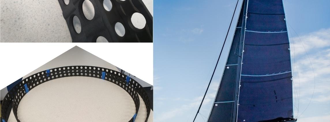 Dank cleverem Engineering entwickelt Scheurer Swiss GmbH einmalige Composite-3D-Druck-Bauteile aus Carbon für High-Tech-Segelkatamaran.