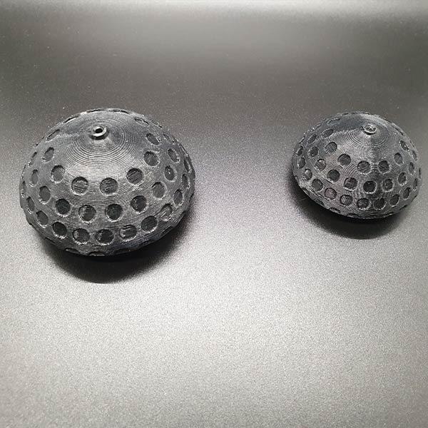 Trapezgriff-Kugel 3D-gedruckt aus starkem Nylon, aerodynamisch, leichter als Standard-T-Griff, perfekter Grip für sichers Greifen nach den Leinen.